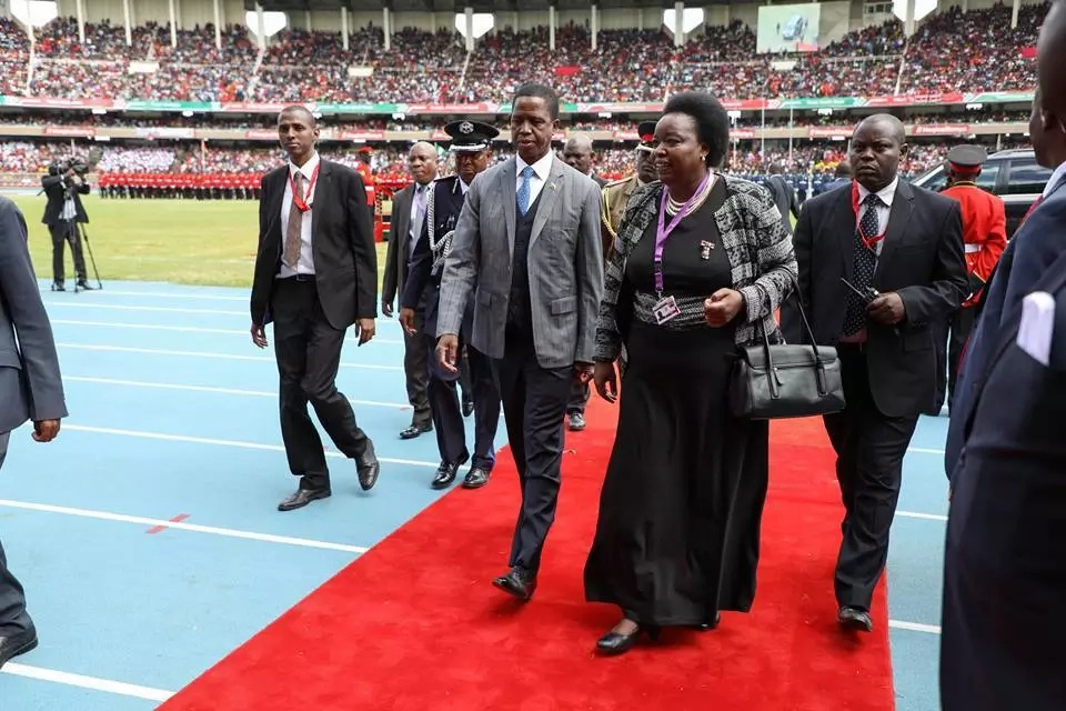 Photos of heads of state who graced Uhuru's swearing-in ceremony
