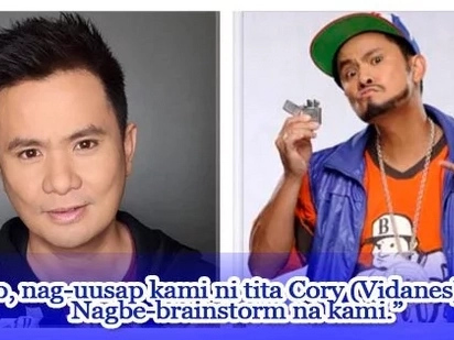 Itatapat kaya sa Bubble Gang? Ogie Alcasid signs new network contract with ABS-CBN, reveals talks to do a comedy gag show