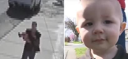 Extraño intentó secuestrar a un bebé...entonces su hermana mayor hizo ESTO