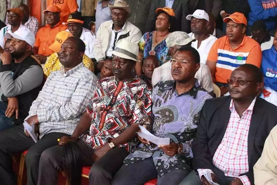 NASA leader Raila Odinga vows to fight on until democratically elected president assumes