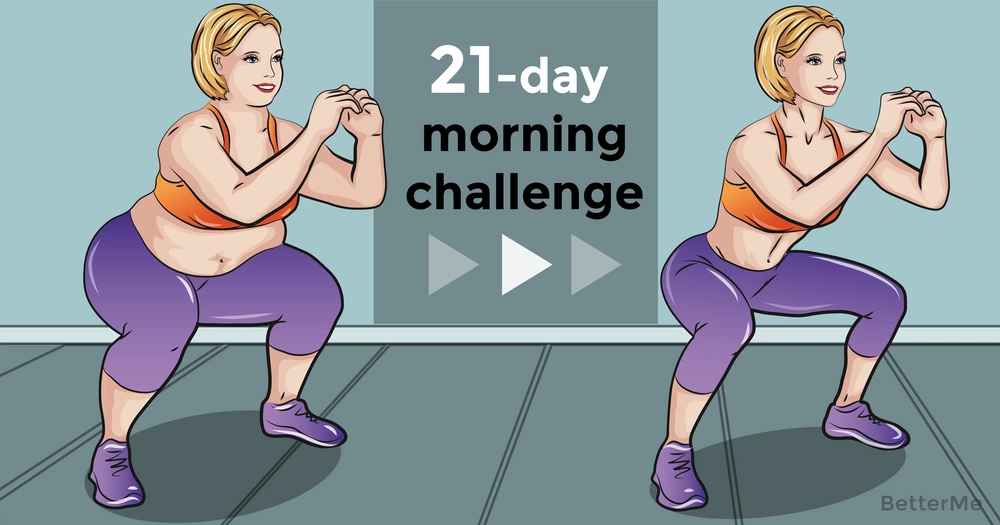 A 21-day morning challenge that can help you reduce fat