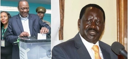 NASA leader Raila Odinga snubbed repeat elections as expected and this is what he was upto