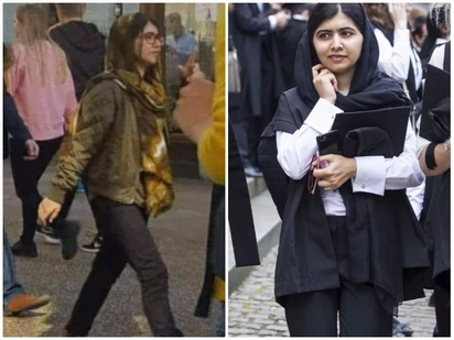 Nobel laureate Malala Yousafzai scoffed for wearing skinny jeans as she starts new life at Oxford