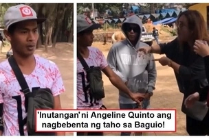 Pinagtripan ang mangtataho! Angeline Quinto's prank on taho vendor in Baguio draws mixed reactions from netizens