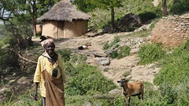 She can now read books on agriculture, among others. Photo: BBC