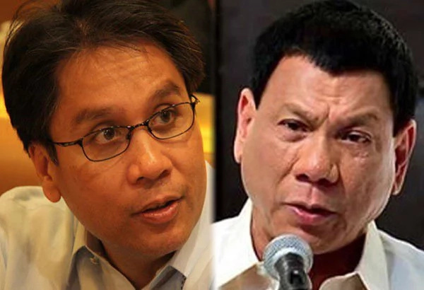 Roxas vows to be Duterte's enemy
