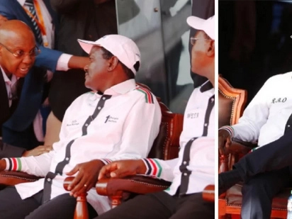 Details emerge on why Raila spent the night with police at NASA billionaire financier's home