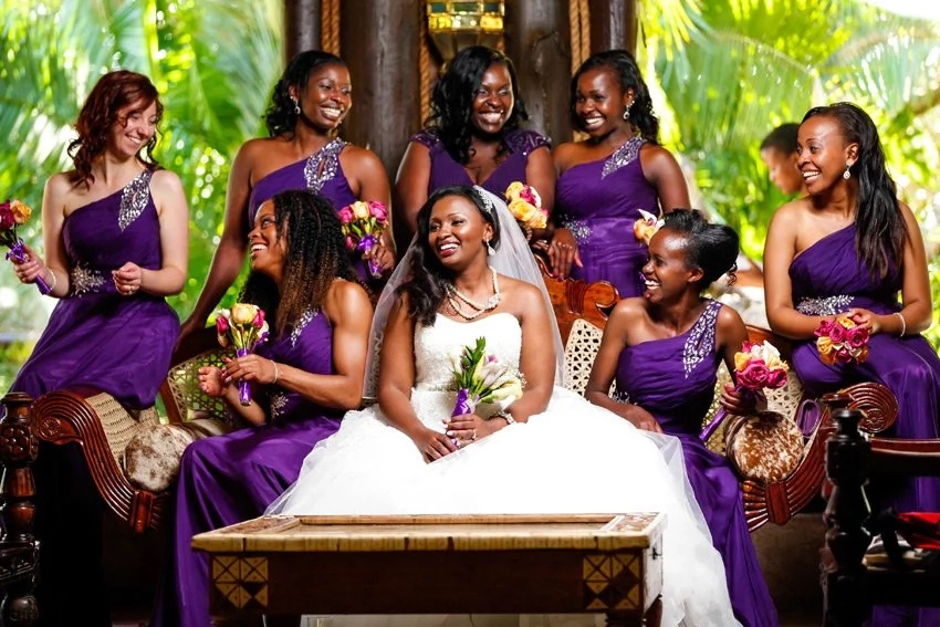 Be the most beautiful even though it's not your day! Kenya hottest bridesmaid dresses trends