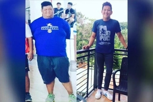 Never lose hope! This amazing Filipino lost 156 pounds in just one year. WOW.