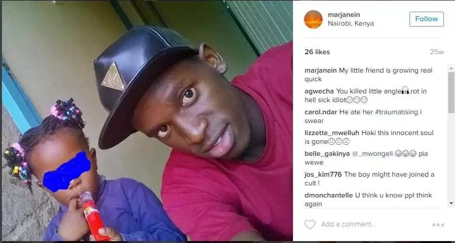 Mvulana mwanafunzi wa chuo kikuu cha Strathmore amuua mpwa wake na kunywa damu yake!