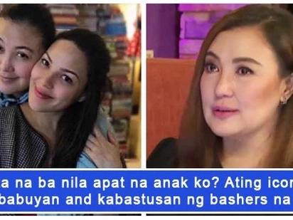 Masama daw siyang ina! Sharon Cuneta, beast mode sa mga masasamang komento sa kanyang pagiging ina
