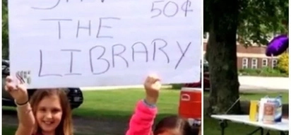 When life gives you lemons, make lemonade! Girl, 9, sells lemonade to stop her library from closing (photos)