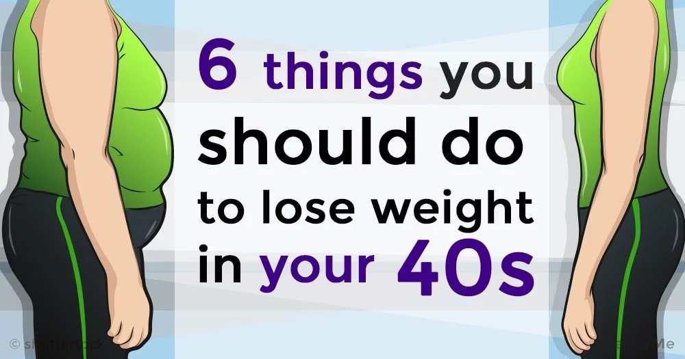 6 things women over 40 should do to lose some weight