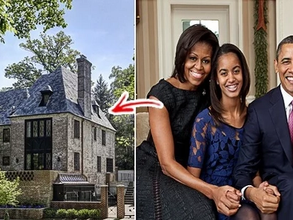 Saan na nga ba sila nakatira ngayon? From 'White House' to gray house: Inside tour of Barack Obama's $8.1M mansion in Washington, D.C.