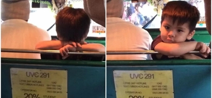 Awww! Netizens have fallen in love with this adorable little boy who helped his jeepney driver father with his work