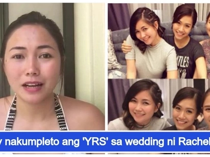 Sayang! Yeng Constantino explains why she was not present at Rachelle Ann Go's wedding
