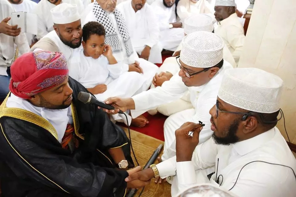 Joho attends brother wedding
