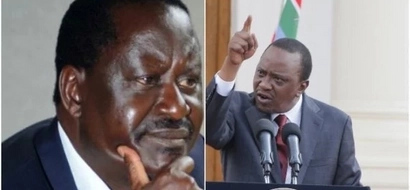 You are the one who is planning to mess the elections not me-Uhuru hits back at Raila