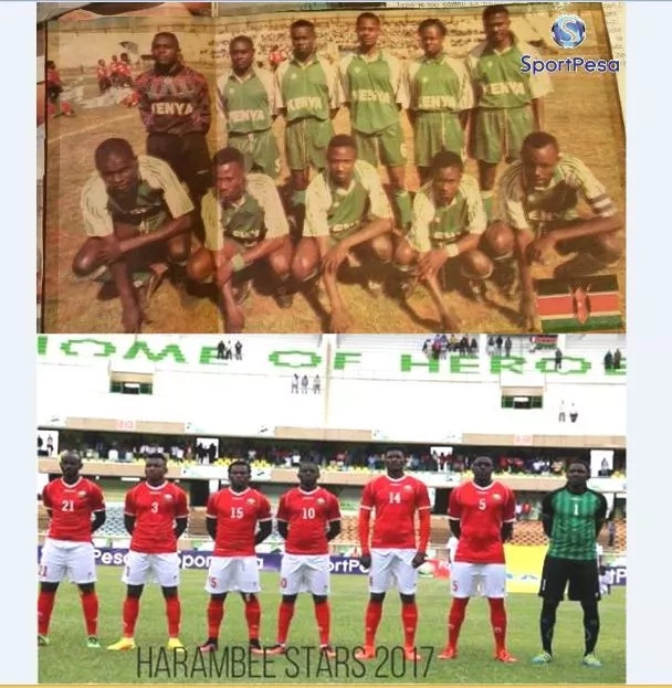 Only those born before the 90s will understand this viral throwback photo of Kenya's national football team