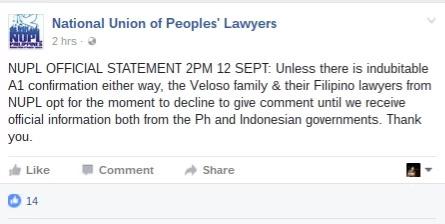 Duterte green lights Mary Jane Veloso's execution