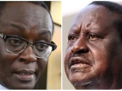Mutahi Ngunyi wants Raila to swear-in himself like yesterday because there will be no dialogue
