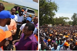 Joho pulls a mammoth crowd in Migori (photos)