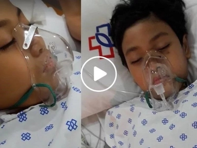 """Anak lumaban ka pa."" Pleading Pinay mom begs prayers for her child who is on stage 4 of comatose"