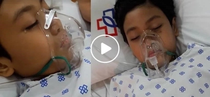 """""""Anak lumaban ka pa."""" Pleading Pinay mom begs prayers for her child who is on stage 4 of comatose"""