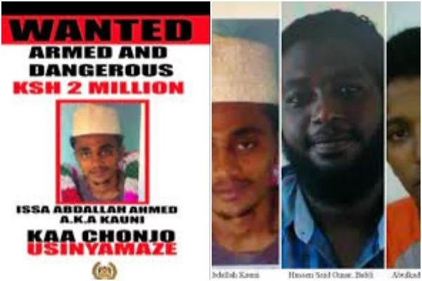 Former government employee among wanted terror suspects