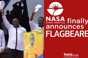 Watch the historical moment NASA finally announced the flagbearer (video)
