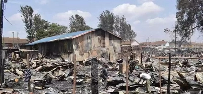 Church building remained standing tall after fire razed all buildings in Kijiji slums tragedy