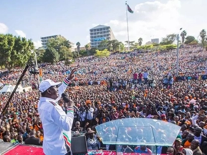 NASA to launch People's Assembly ahead of Raila's swearing-in ceremony
