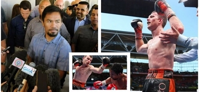 """Pacquiao on the results of the fight: """"Rerespetuhin ko na lang"""""""