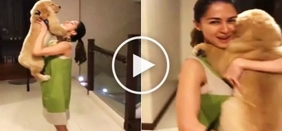 Watch Marian Rivera get emotional as she welcomes cute dog as new member of her family!