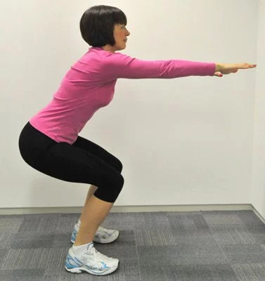 Five easy to do exercises for getting a firm butt
