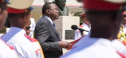 Uhuru presides over unveiling of his father's statue in Cuba