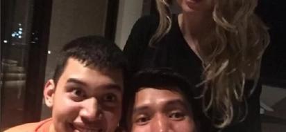Hindi namin inaasahan ito! Kris Aquino's son Josh hangs out with stepdad James Yap for New Year