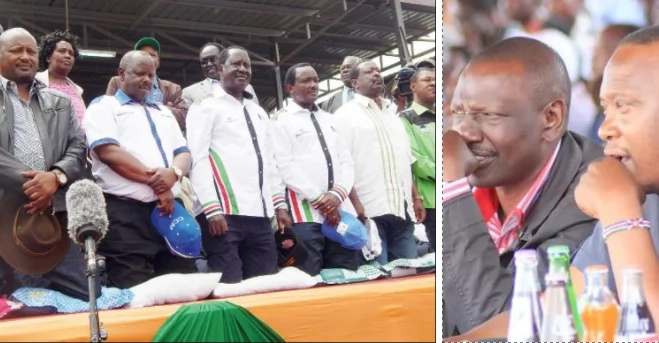 Inside NASA's 9 ambitious promises to Kenyans if they beat Uhuru and Ruto