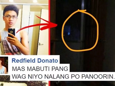 Terrifying video of a white lady standing outside the door of a Pinoy netizen's house scares netizens: 'SERYOSO, HINDI PO EDITED YUNG VIDEO'
