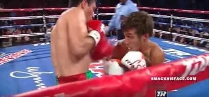 Badass Ukrainian Boxer Dodges Punches Like Neo