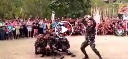 Winner! This hilarious video of bubbly Filipino soldiers dancing while shaking their booties wows netizens
