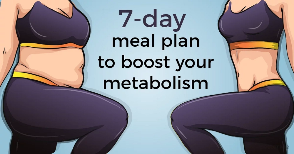 This 7-day meal plan can boost your metabolism