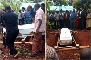Something utterly WEIRD happened inside the grave of Nairobi's prettiest thug at it will creep you out