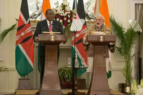 Uhuru's delegation embarrassed him in India (photo)