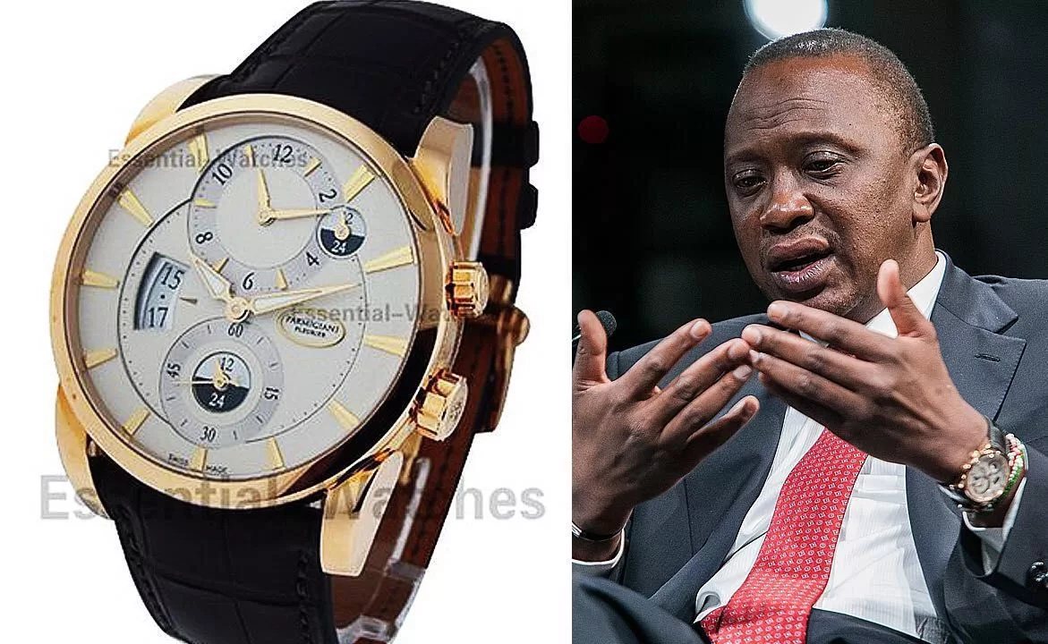 Uhuru Kenyattta spent KSh 13 million on wrist watches