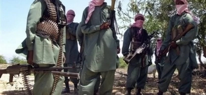2 al-Shabaab militants are killed dramatically after own bomb explodes on their face