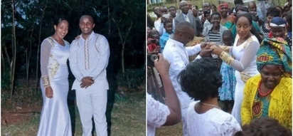 K24 journalists walk down the aisle in a colourful wedding ceremony,and TUKO.co.ke has the details