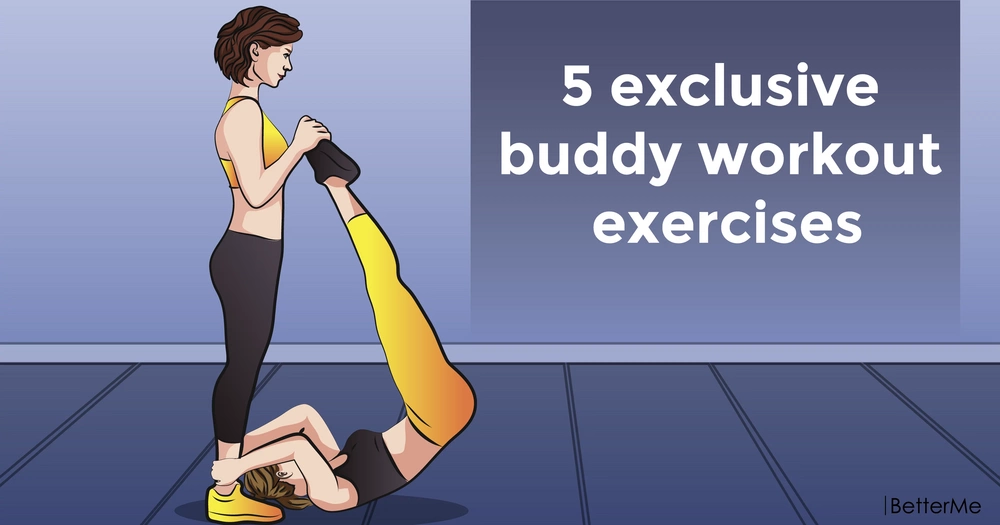 5 exclusive buddy workout exercises