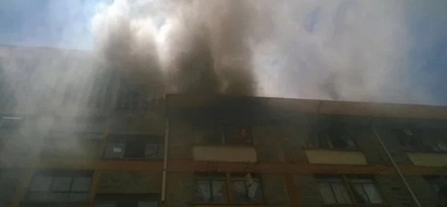 School that experienced 'KCSE riots' loses KSh 8 million after a fire erupts