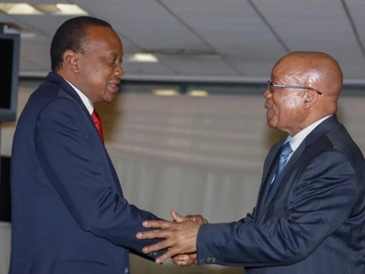Uhuru Kenyatta's Reaction to Jacob Zuma's Resignation